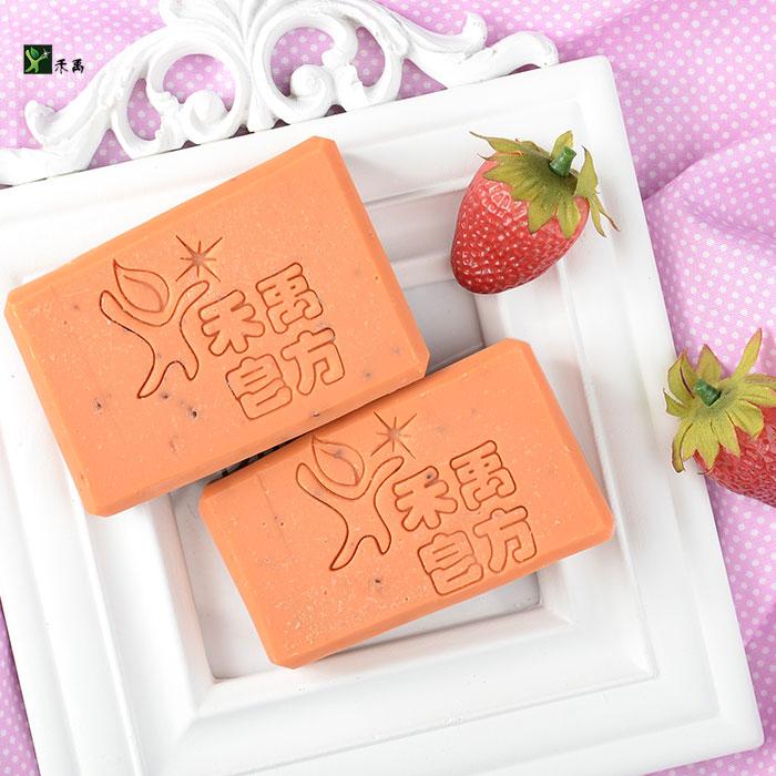 草莓天然酵母皂-標準款